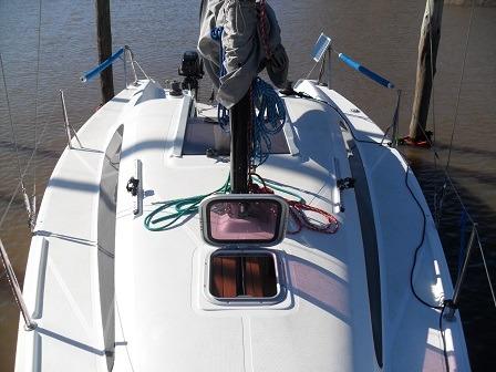 velero mastracchio 24.5 con parsun 9 hp
