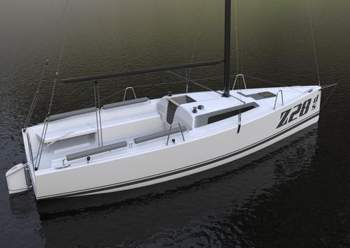 velero mastracchio z28ds day sailer nuevo