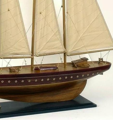 velero miniatura 86 cm madera decorativo - barco escala