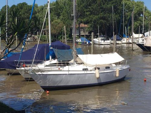 velero oceánico de acero naval wibo 9.45, excelente!!