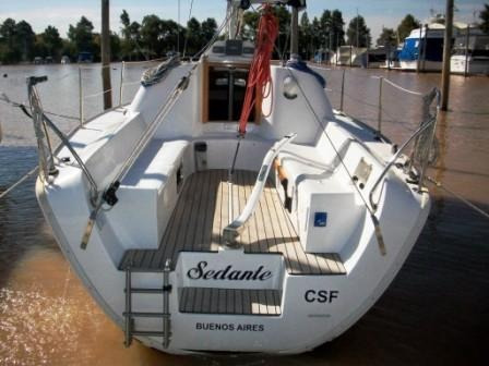 velero pandora 260 motor volvo diesel 20 hp