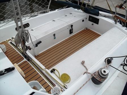 velero pandora 27 con motor yanmar 18 hp diesel