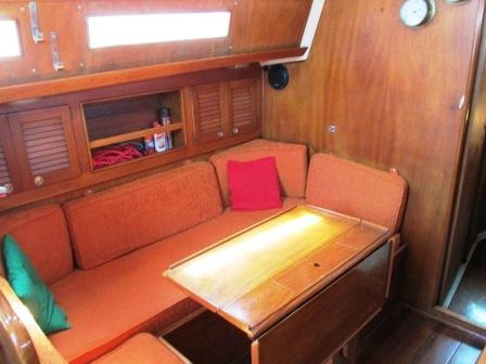 velero pandora 32 con motor interno faryman 19 hp