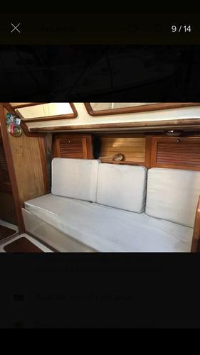 velero plenamar 27, con mayor, genoa enrollable y foque nuev