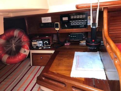velero plenamar 300 año 1990 volvo penta 18hp calado 1.45