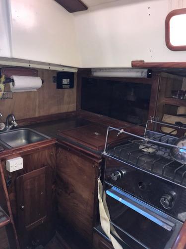 velero plenamar 36, con motor nuevo