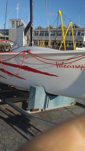 velero raptor 5,5mts 1,20calado impecable