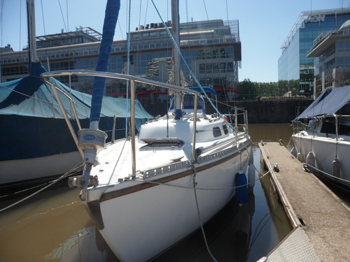 velero triton 28 - enrollador mayor y genoa - muy completo