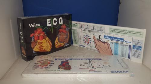 velez ecg + regla + libro regla