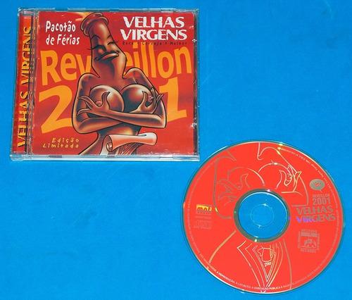 velhas virgens - reveillon 2001 cd - 2001