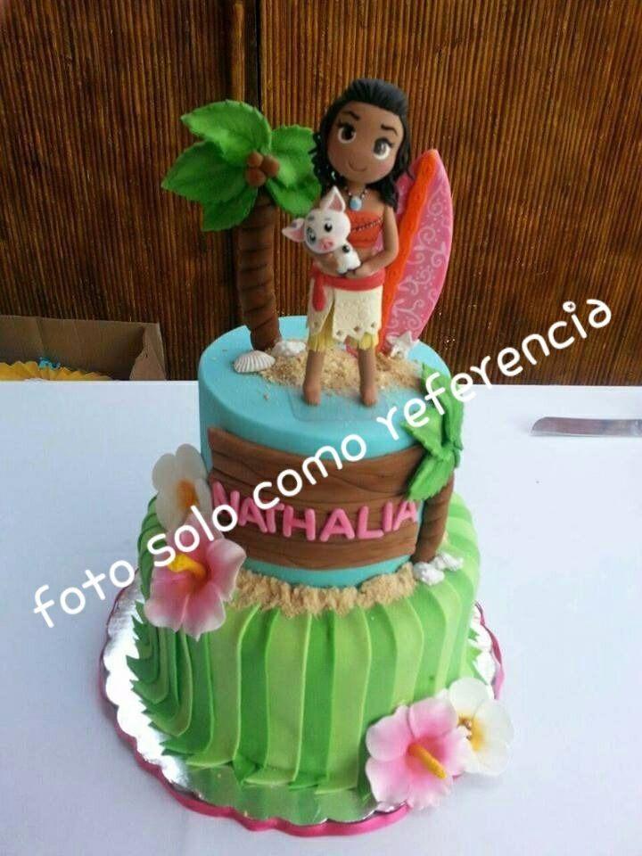 Velita O Adorno Para Pastel De Moana Cake Topper 349