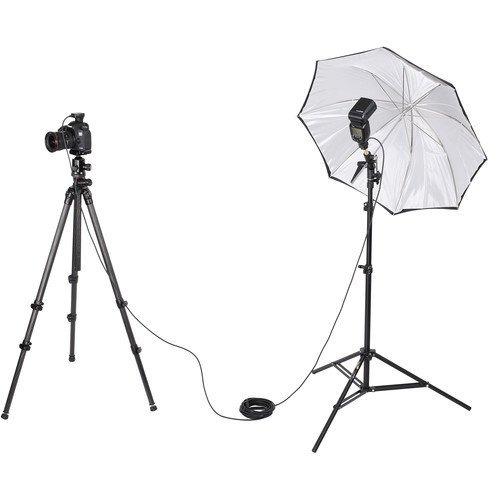 vello off-camera flash ttl cable de alimentación para cámara