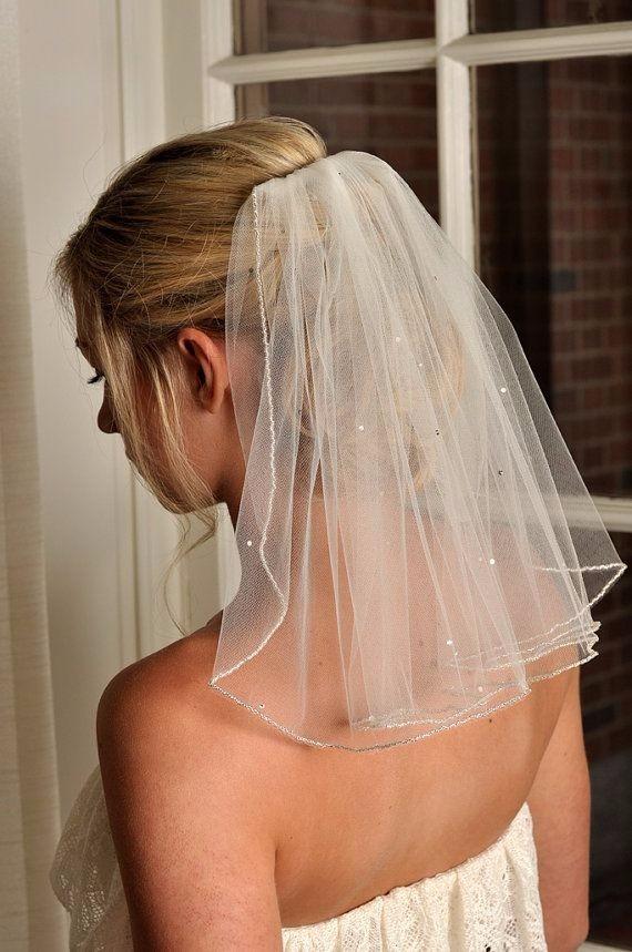 26a1b66271 Velo Corto Novia-tul -accesories Bridal -   35.000 en Mercado Libre