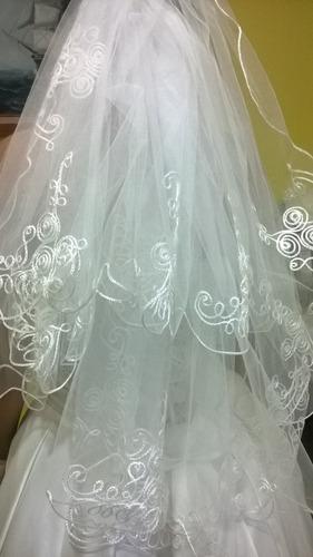 velo y mantilla de novia