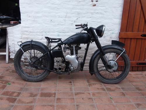 velocette mac 350 1948 clasica inglesa