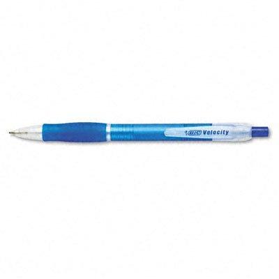 velocidad bic bolígrafo retráctil recargable punta media 003