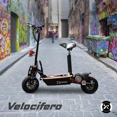 velocifero electrico con bateria de litio / d