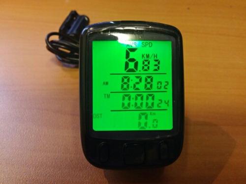 velocimetro bicicleta  24 funciones, odometro 24 funciones