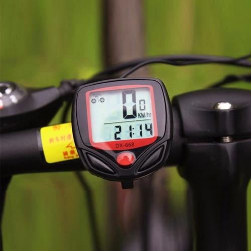 velocímetro bicicleta impermeable - 14 funciones + batería