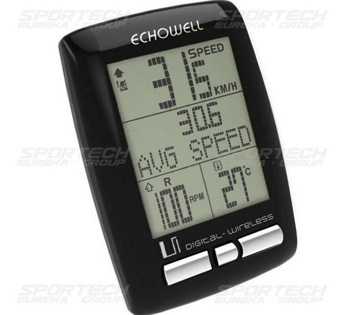 velocímetro bicicleta inalambrico cadencia mtb echowell ui30