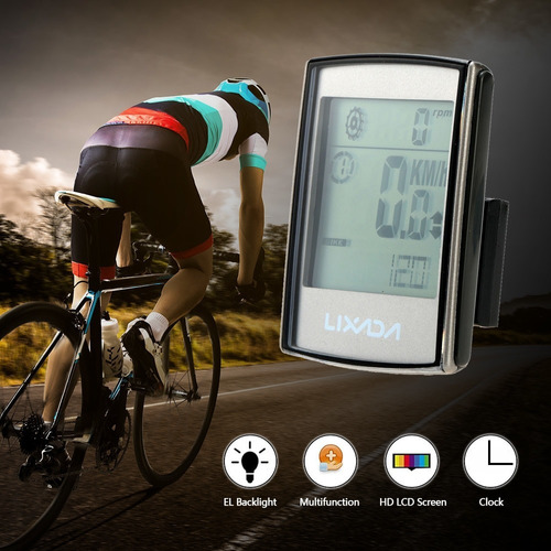 velocimetro bicicleta inalambrico profesional cadencia 2018