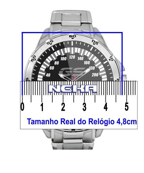 86c1a1ec69c Velocímetro Bmw Gs F-800 Relógio Personalizado 5776 - R  129