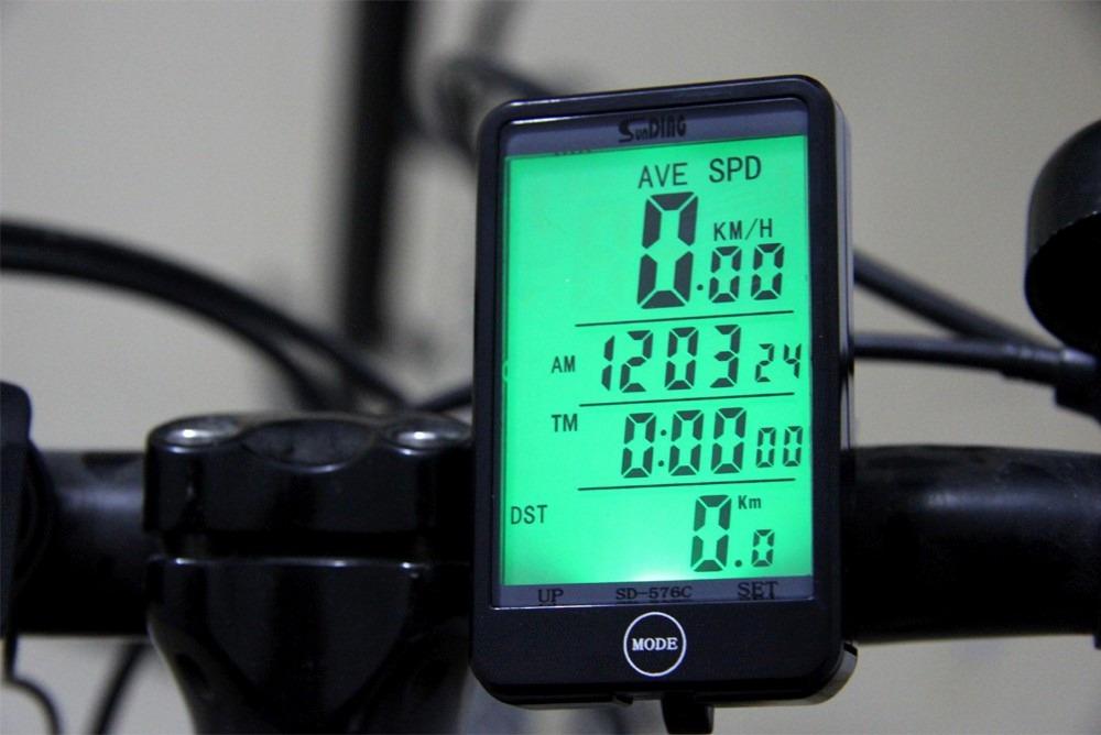 2d0e6f16c velocímetro ciclismo bike digital touch sem fio luz noturna. Carregando  zoom.