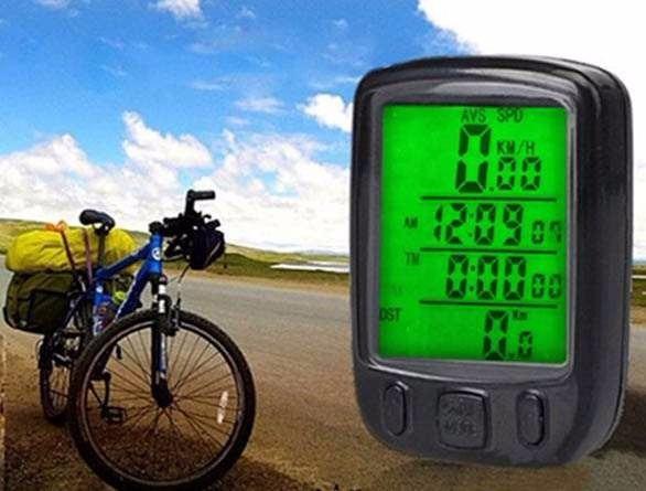 25eeaccea Velocímetro Com Fio Prova D'agua Bike Relogio Marca Km Tempo - R$ 99,49 em Mercado  Livre
