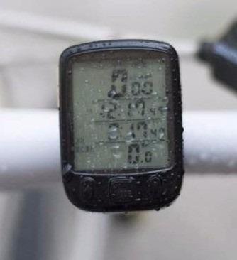 velocimetro computadora p bicicleta con luz led 25 funciones