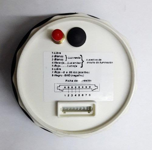 velocimetro con antena gps 12/24v escala: 0-200 km/h