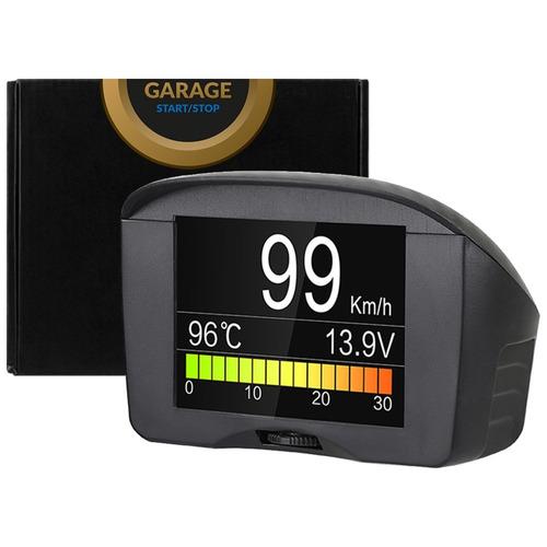 velocímetro digital edición carbono obd2