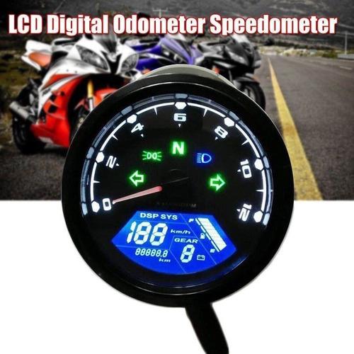 velocimetro digital tacometro 12en1 marca toda las funciones