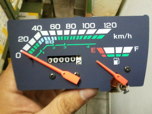 velocímetro do painel c/ marcador gasolina honda c 100 dream