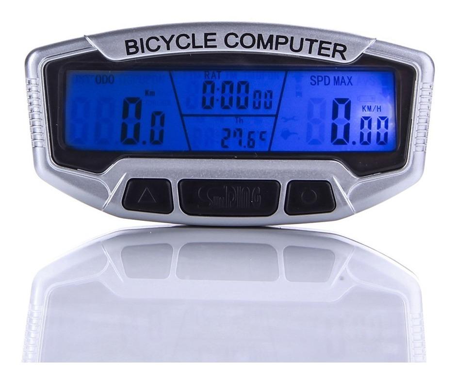 b6fbea226 Velocímetro Odômetro Ciclo Computador Digital Bike 28 Funçõe - R$ 59 ...