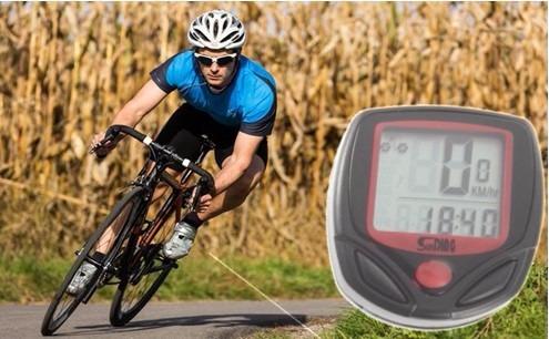 velocimetro odometro bicicleta mide distancia velocidad