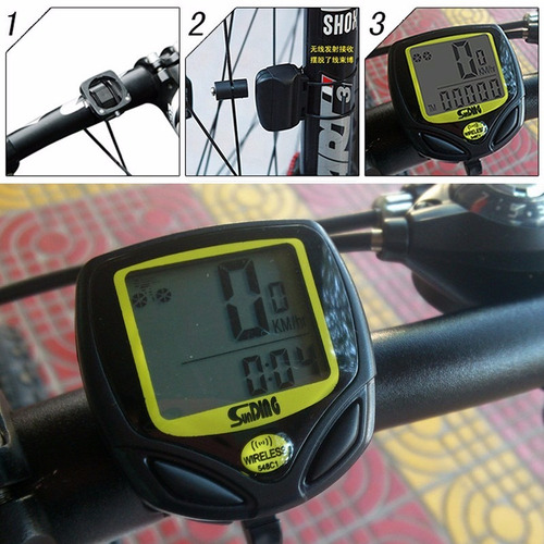 velocimetro odometro digital inalambrico bicicleta waterproo