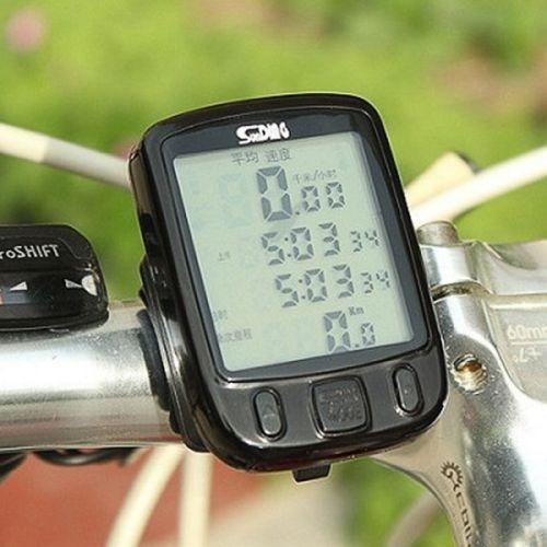 velocímetro para bicicleta computadora sunding sd-563a