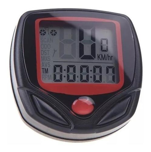 velocímetro para bike odômetro digital computador bicicleta