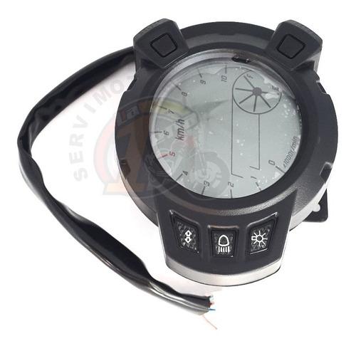 velocimetro tacometro digital bwsx 125 7 luces r402-0013