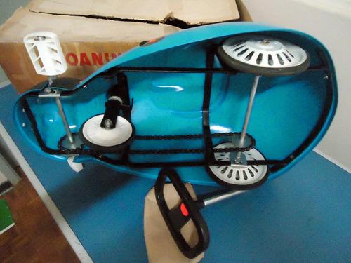 velocipede joaninha bandeirantes dec de 70 sem uso na caixa