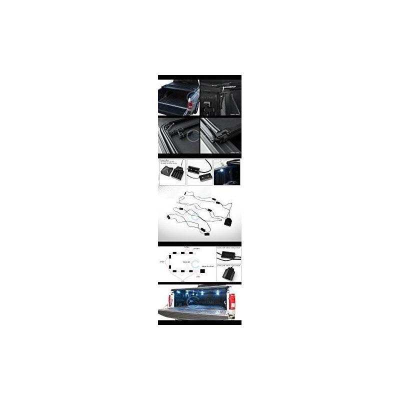 Velocity Racing Tri-fold Cubierta De Vinilo Tonneau Lw 16x L ...