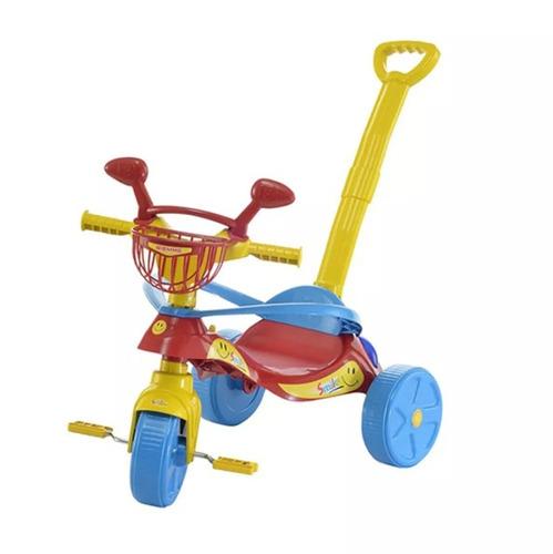 velotrol triciclo infantil confort menina menino promoção