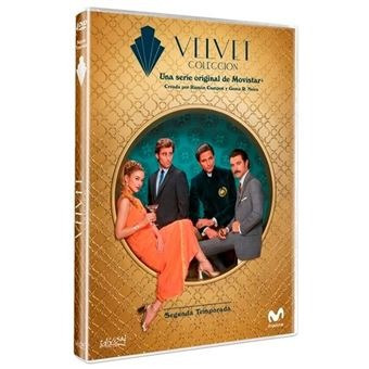 velvet coleccion serie temporadas 1 y 2 en dvd!