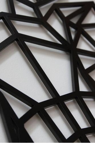 venado geométrico decoración 44x57
