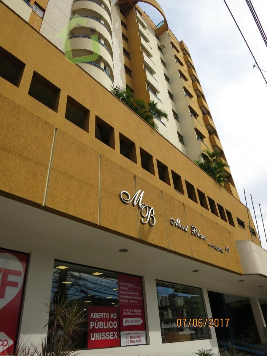 venda - apart-hotel no mont blanc - nova iguaçu