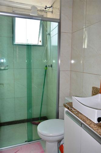 venda apartamento 02 quartos no são joão batista. - 4676