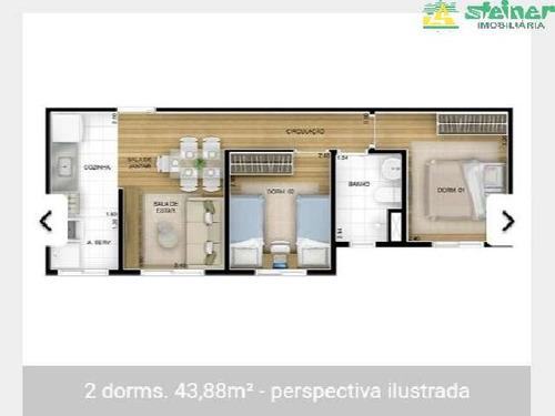 venda apartamento 2 dormitórios jardim las vegas guarulhos r$ 220.000,00