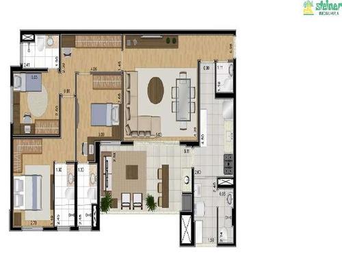 venda apartamento 3 dormitórios jardim santa mena guarulhos r$ 785.000,00