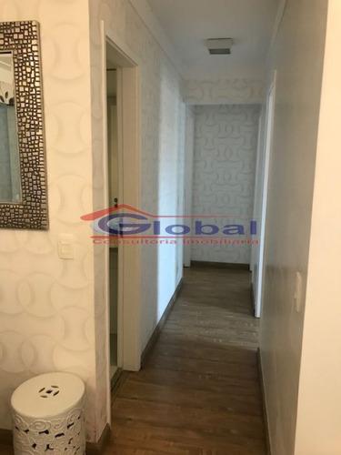 venda apartamento - b. casa branca - santo andré - gl36325
