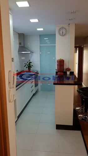 venda apartamento - b. jardim - santo andré - gl38530